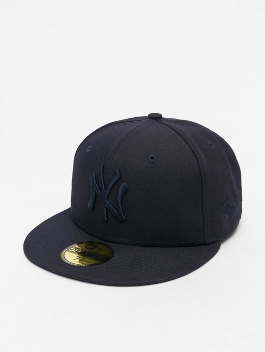 New Era MLB NY Yankees Essential 59Fifty Fitted Cap Navy image number 0
