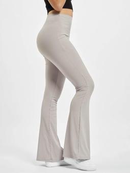 Missguided Ribbed Flare Trouser Sweat Pants