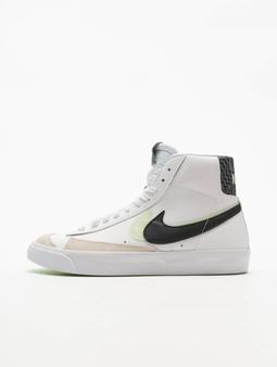 Nike Blazer Mid '77 Se (GS) Sneakers White/Black/Vapor Green/Smoke Grey