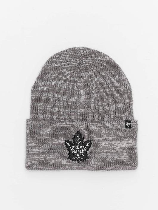 '47 NHL Toronto Maple Leafs Brain Freeze Cuff Knit Beanie Dark Grey image number 0