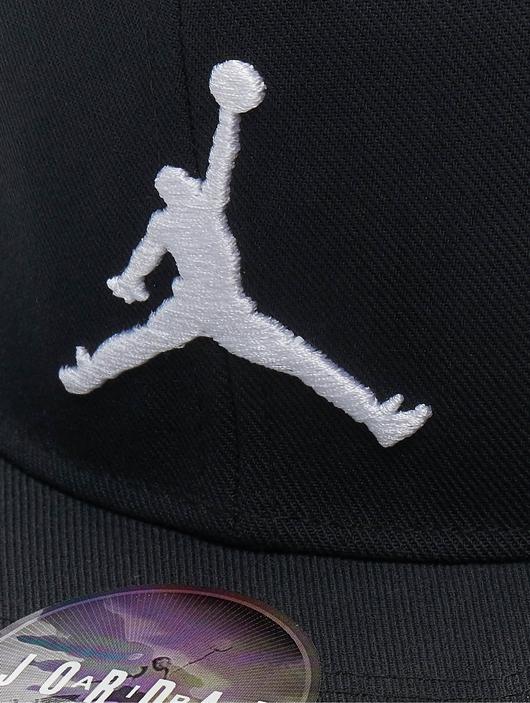 Jordan Pro Jumpman Snapback Cap Black/Black/Gym Red image number 3