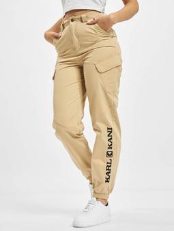 Karl Kani Kk Retro Cargo Chino bukser beige