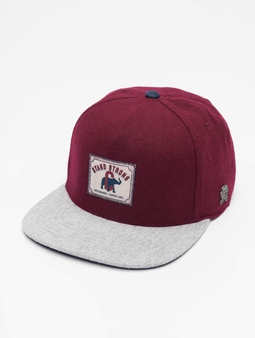 Cayler & Sons CL Stand Strong Snapback Cap Maroon/Cream