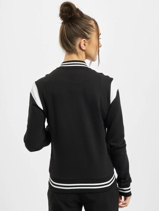 Urban Classics Ladies Organic Inset College  College Jackets image number 1