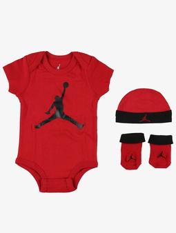Jordan Jumpman Hat/Bodysuit/Bootie Set 3 Pieces