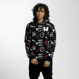 Who Shot Ya? GameOver Hoody Black
