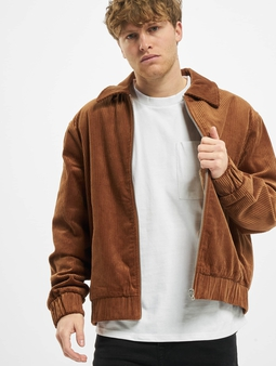 Urban Classics Boxy Corduroy Jacket Toffee