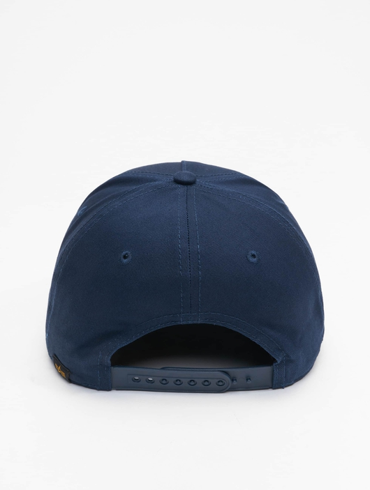 Alpha Industries Alpha Snapback Cap Rep Blue image number 1
