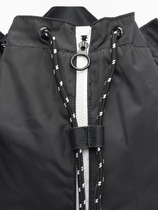 Urban Classics Light Weight Hiking Backpack Black/White image number 7
