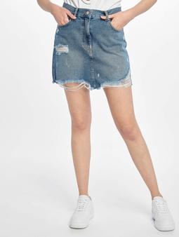 Na-Kd Distressed Mini Denim Skirt Skirt