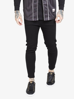 Sik Silk Drop Crotch Straight Fit Jeans