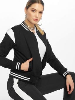 Urban Classics Inset Sweat College Jacket