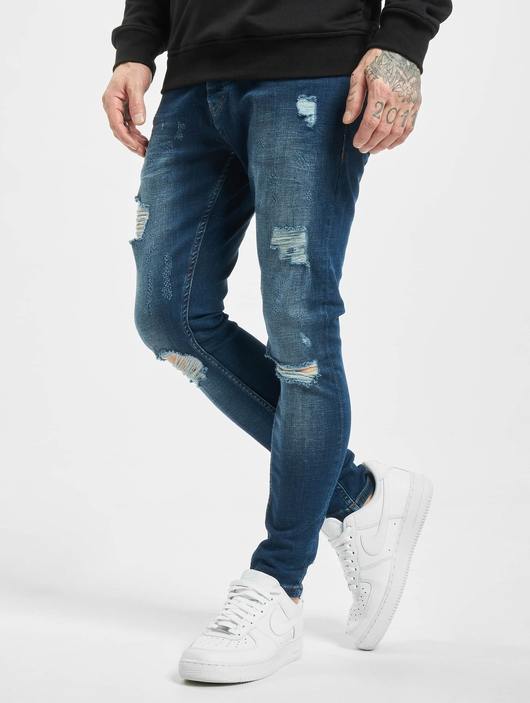 2Y Zerrin Slim Fit Jeans Blue image number 0