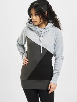 Just Rhyse Panama Hoody Grey Melange Anthracite
