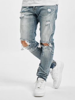 2Y Straight Fit Jeans Blue