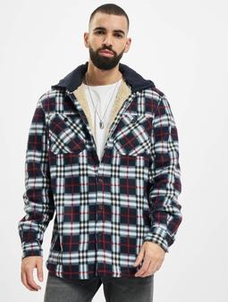 Urban Classics Hooded Polar Fleece Overshirt Jacket