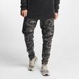 Urban Classics Interlock Camo Sweatpants Wood Camouflage