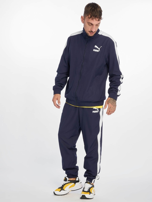 Puma Iconic T7 Track Pants Peacoat image number 5