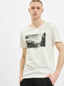 Jack & Jones jorNobody Black T-Shirt Cloud Dancer/Reg