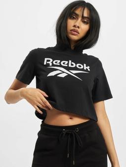 Reebok Identity Crop T-skjorter svart
