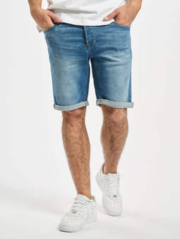Only & Sons onsPly 70es  Shorts blå