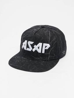 Cayler & Sons Wl Flashin Dark Cap Snapback Cap Washed Black/Mc