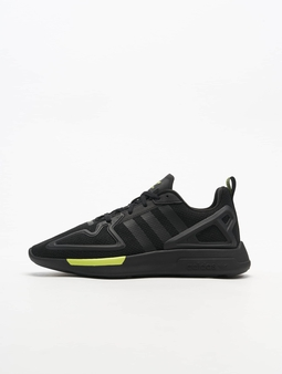 Adidas Originals ZX 2K Flux Sneakers Core Black/Core Black/Syello