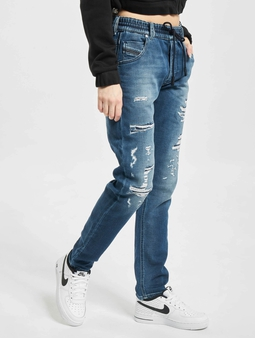 Diesel Pant Straight Fit Jeans Blue Denim
