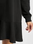 Missguided Frill Hem Sweater Dress Black image number 3