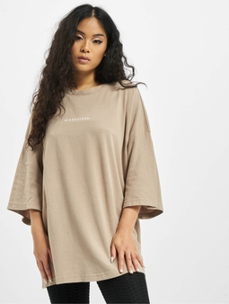 Missguided Washed Missguided Dropped Shoulder T-Shirt