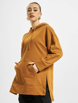 Only onlJena Life Long Hoody Glazed Ginger