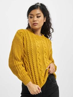 Sublevel Knit Sweater Ochre