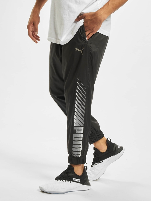 Puma Collective Woven Sweat Pants Puma Black/Puma White image number 0