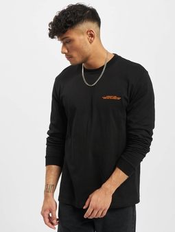 Carhartt Wip International Operations Longsleeve Black/Orange