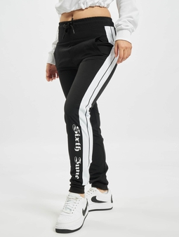 Sixth June Nylon Joggers Sweat Pants Black