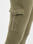Urban Classics Fitted Cargo Sweatpants Olive image number 3