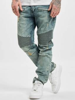 Who Shot Ya? Antifit Jeans Light Blue Denim