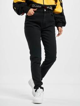 GCDS Basic  Tynne bukser svart