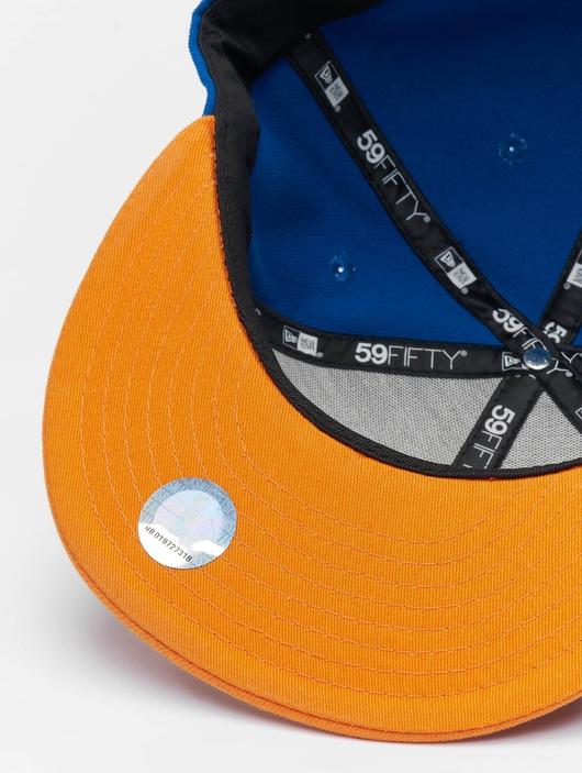 New Era NBA Basic NY Knicks 59Fifty Cap Blue/Orange (7 - 55, image number 2