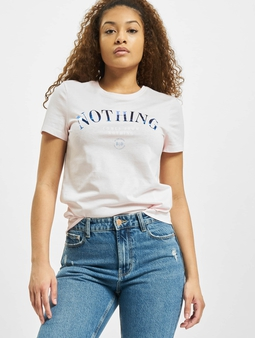 Only onlKita Life Reg Statement T-Shirt Ballerina/Nothing