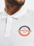 Jack & Jones jcoStrong Polo Shirt White image number 3