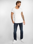 Jack & Jones jjeBas Shortsleeve U-Neck Noos T-Shirt Blue Heaven image number 3