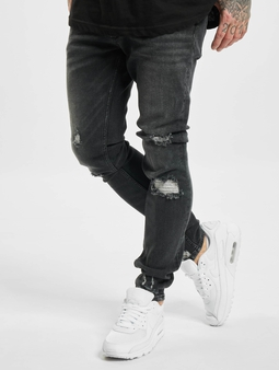 Vsct Clubwear Knox Skinny Jeans Black Stones Used