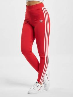 Adidas Originals 3 Stripes Tights Scarlet