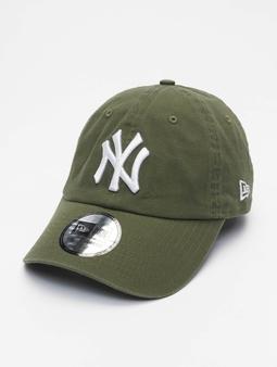 New Era Mlb Properties New York Yankees Team Cc 9twenty Snapback Cap New Olive/White
