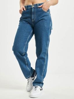 Dickies Ellendale Denim Straight Fit Jeans Classic Blue