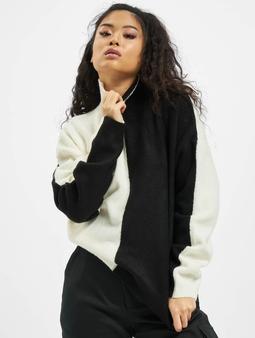 Missguided Colourblock High Neck Sweatshirt