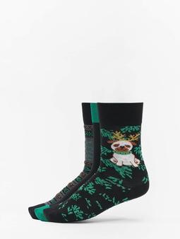 Urban Classics Christmas Socks Set Dog