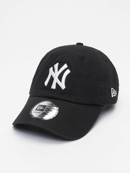 New Era Mlb Properties New York Yankees Team Cc 9twenty Snapback Cap Black/White