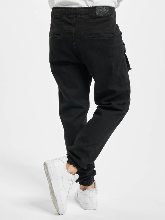 Vsct Clubwear Norman Baggy Cargo Pants Black image number 1